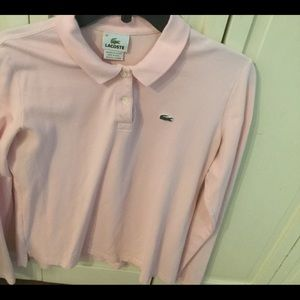 Lacoste light pink Top